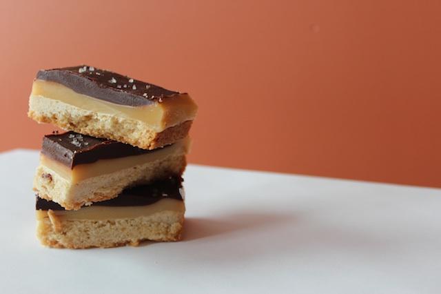 Caramel Chocolate ShortbreadBars