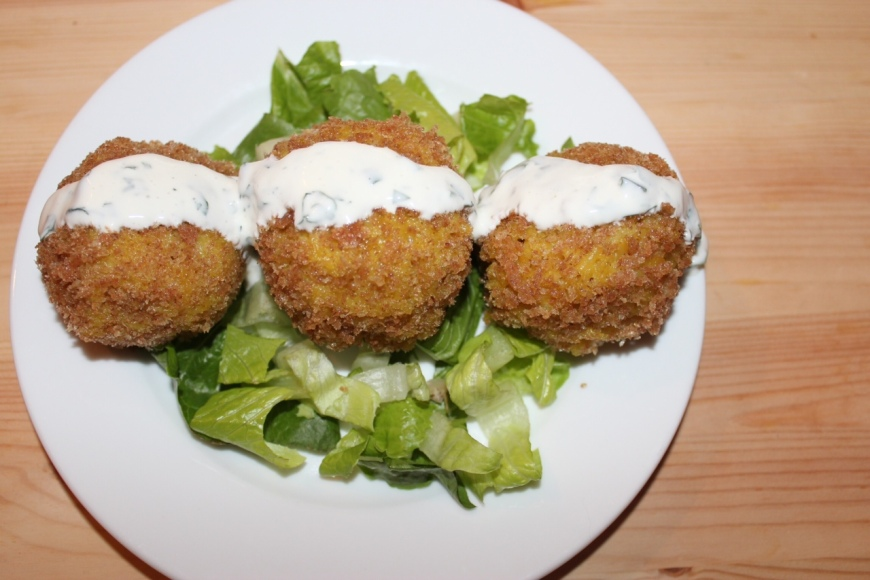 Halal Fried Rice Balls